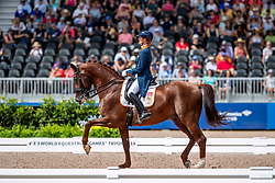 Witte-Vrees Madeleine, NED, Cennin<br /> World Equestrian Games - Tryon 2018<br /> © Hippo Foto - Dirk Caremans<br /> 14/09/18
