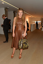 AMBER NUTTALL at an evening of Fashion, Art & design hosted by Ralph Lauren and Phillips at the new Phillips Gallery, 50 Berkeley Square, London on 22nd October 2014.