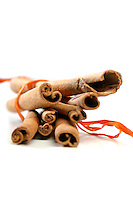 Tied Bunch of cinnamon Sticks
