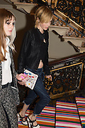 EDIE CAMPBELL, Royal Academy Summer exhibition private view. Piccadilly. London. 3 June 2015