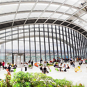 Public space project for Skygarden @ 20 Fenchurch Street London