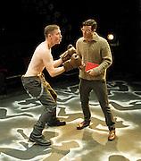 Shalom Baby <br /> A new comedy drama by Rikki Beadle-Blair<br /> at Theatre Royal <br /> Stratford East <br /> London, Great Britain <br /> press photocall<br /> 24th October 2011 <br /> <br /> Katie Borland<br /> (as Natalie Weissmann)<br /> <br /> Nathan Clough (as Ike Essien)<br /> <br /> Mandy Fenton (as Hanna Weissmann)<br /> <br /> Tom Ross-Williams (as Morris Weissmann)<br /> <br /> Richard Simons (as Hersh Weissmann)<br /> <br /> Kyle Treslove (as Ion Koka)<br /> <br /> Toby Wharton (as Aimon Hertz)<br /> <br /> Photograph by Elliott Franks