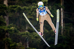 Ksenia Kablukova (RUS) during 1st Round at Day 1 of FIS Ski Jumping World Cup Ladies Ljubno 2018, on January 27, 2018 in Ljubno ob Savinji, Ljubno ob Savinji, Slovenia. Photo by Ziga Zupan / Sportida