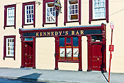 Kennedy's Bar in popular tourist town of Youghal, County Cork, Ireland