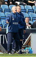 Photo: Mark Stephenson.<br />Coventry City v Queens Park Rangers. Coca Cola Championship. 07/04/2007. Coventry's manager Iain Dowie gives the orders from the side line