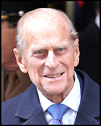 THE QUEEN AND THE DUKE OF EDINBURGH  ATTEND A SERVICE OF DEDICATION TO UNVEIL THE DIAMOND JUBILEE WINDOW AT THE QUEEN'S CHAPEL OF THE SAVOY, Thursday November 1, 2012 Photo Andrew Parsons / i-Images..