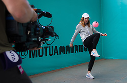 May 3, 2019 - Madrid, Spain - SIMONA HALEP of Romania during All Access Hour at the 2019 Mutua Madrid Open WTA Premier Mandatory tennis tournament (Credit Image: © AFP7 via ZUMA Wire)