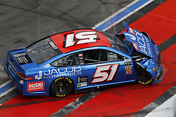 September 30, 2018 - Concord, North Carolina, United States of America - Stanton Barrett (51) races during the Bank of America ROVAL 400 at Charlotte Motor Speedway in Concord, North Carolina. (Credit Image: © Chris Owens Asp Inc/ASP via ZUMA Wire)