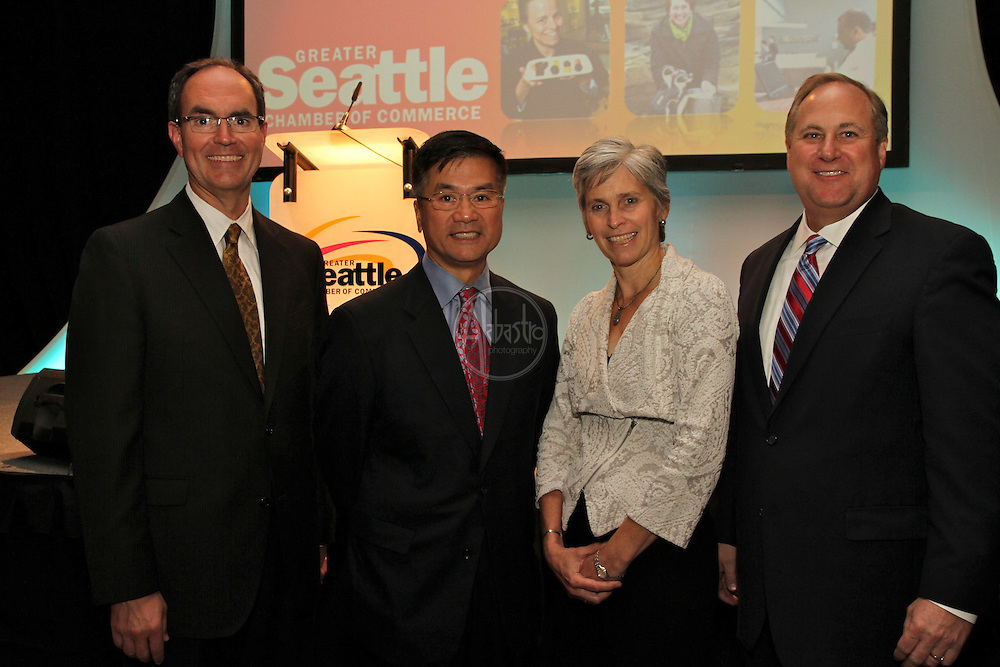 Greater Seattle Chamber of Commerce 128th Annual Luncheon featuring U.S. Commerce Secretary Gary Locke on September 17, 2010