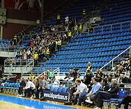 KOSARKA, BEOGRAD, 21. Nov. 2010. - Navijaci Crvene zvezde.  Utakmica 13. kola NLB lige  u sezoni (2010/2011) izmedju Partizana i Crvene zvezde. Foto: Nenad Negovanovic