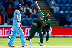 Mashrafe Mortaza of Bangladesh - Mandatory by-line: Robbie Stephenson/JMP - 08/06/2019 - CRICKET - Cardiff Wales Stadium - Cardiff , England - England v Bangladesh - ICC Cricket World Cup 2019 Group Stage