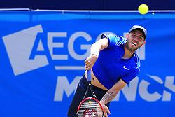 Dan Evans of Great Britain - Mandatory by-line: Matt McNulty/JMP - 31/05/2016 - TENNIS - Northern Tennis Club - Manchester, United Kingdom - AEGON Manchester Trophy