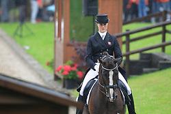 Carina Nevermann Torup (DEN) - Blue Boy<br /> European Championship Dressage Young Riders  - Broholm 2011<br /> © Hippo Foto - Leanjo de Koster