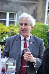 HUGO VICKERS at a reception for the Castle of Mey held at the Goring Hotel, London on 19th May 2009.