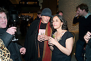 RON ARAD; LEILA ARAD;, Ron Arad; Restless. Cocktail reception hosted by Kate Bush of the Barbican and Tony Chambers of Wallpaper magazine. Barbican art Gallery. London. 17 September 2010
