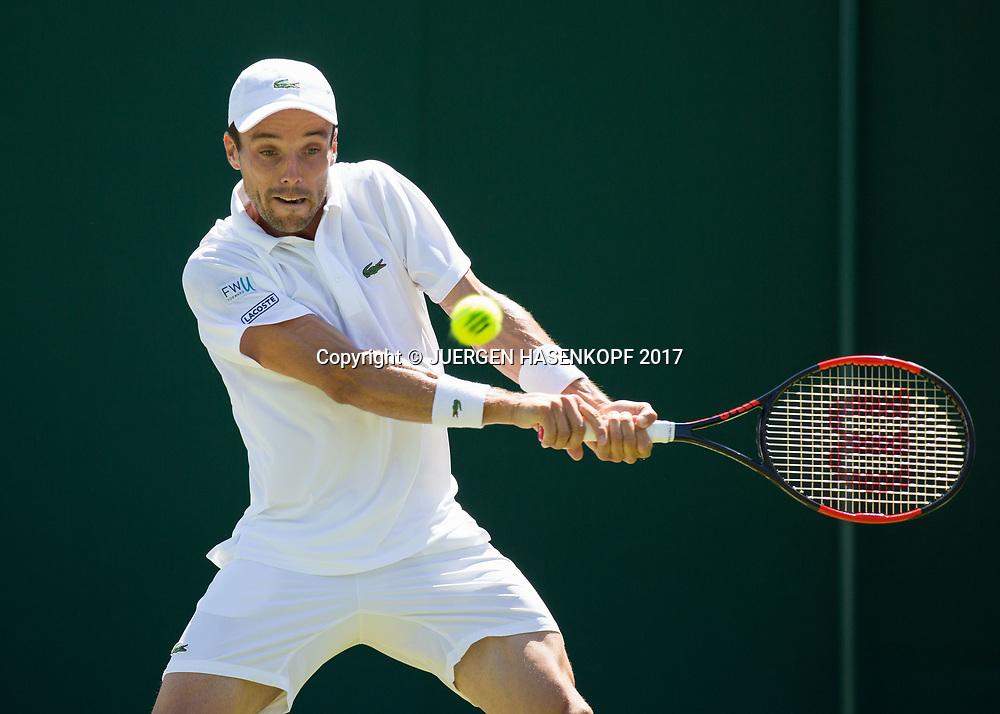 ROBERTO BAUTISTA AGUT (ESP)<br /> <br /> Tennis - Wimbledon 2016 - Grand Slam ITF / ATP / WTA -  AELTC - London -  - Great Britain  - 5 July 2017.