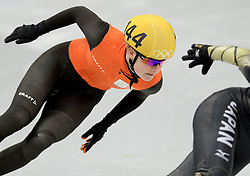 18-02-2014 SHORTTRACK: OLYMPIC GAMES: SOTSJI<br /> Yara van Kerkhof plaatst zich niet voor de volgende ronde op de 1000 meter<br /> ©2014-FotoHoogendoorn.nl