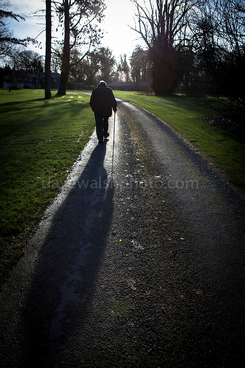 "Dad, in winter sunshine, before Mick's wedding in Rathsallagh, Co. Wicklow This mage can be licensed via Millennium Images. Contact me for more details, or email mail@milim.com For prints, contact me, or click ""add to cart"" to some standard print options."