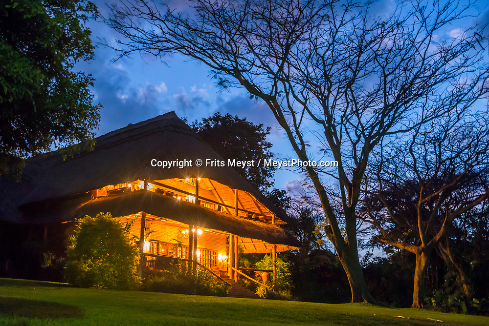 Malawi, July 2017. Kumbali Country Lodge is a private lodge, situated on a 650 hectare forest reserve and dairy farm in Malawi. Only 10 minutes from the capital city, Lilongwe, along a quiet traffic-free road. Stylish, relaxed and informal Lilongwe accommodation, it is much more than just another Lilongwe hotel and the perfect stopover to other Malawi travel destinations such as Lake Malawi. Malawi is known for its long rift valley and the third largest lake in Africa: Lake Malawi. Malawi is populated with friendly welcoming people, who gave it the name: the warm heart of Africa. In the south the lake make way for a landscape of valleys surrounded by spectacular mountain ranges. Photo by Frits Meyst / MeystPhoto.com