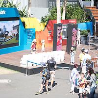 A general view of the Social Park on day ten of the 2017 Australian Open at Melbourne Park on January 25, 2017 in Melbourne, Australia.<br /> (Ben Solomon/Tennis Australia)