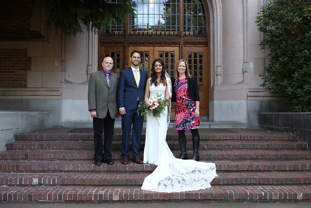 Seattle, WA - September 24, 2017<br /> <br /> Abe and Hanady wedding photos. Seattle, WA.
