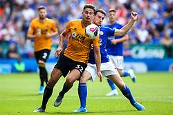 Leander Dendoncker of Wolverhampton Wanderers takes on Ben Chilwell of Leicester City - Mandatory by-line: Robbie Stephenson/JMP - 11/08/2019 - FOOTBALL - King Power Stadium - Leicester, England - Leicester City v Wolverhampton Wanderers - Premier League