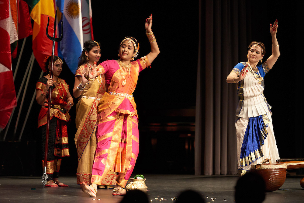 Activity; Dance; Buildings; Cartwright; Location; Inside; Music; Performance; Spring; April; Time/Weather; evening; Type of Photography; Candid; UWL UW-L UW-La Crosse University of Wisconsin-La Crosse; People; Diversity; International Banquet