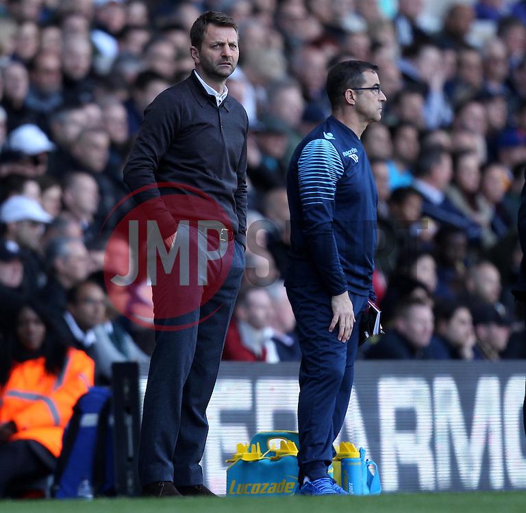 Aston Villa Manager, Tim Sherwood - Photo mandatory by-line: Robbie Stephenson/JMP - Mobile: 07966 386802 - 11/04/2015 - SPORT - Football - London - White Hart Lane - Tottenham Hotspur v Aston Villa - Barclays Premier League