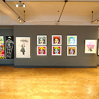London feb 19 The Eleven man sized works of art that Bonham will auction on behalf of the The Prostate Cancer charity on Feb 24 features work  from leading Pop artist like Gerald Laing, Blek the rat, Nick Walker etc...Standard Licence feee's apply  to all image usage.Marco Secchi - Xianpix tel +44 (0) 845 050 6211 .e-mail ms@msecchi.com .http://www.marcosecchi.com