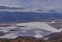 Salt Flats Panorama from Dante's View. Death Valley National Park. One of three images taken with a Leica X1 camera (ISO 100, 24 mm, f/16, 1/500 sec).