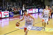 Leonardo Candi<br /> Grissin Bon Reggio Emilia - Openjobmetis Pallacanestro Varese<br /> LegaBasket Serie A 2017/2018<br /> Reggio Emilia, 16/12/2017<br /> Foto Ciamillo-Castoria