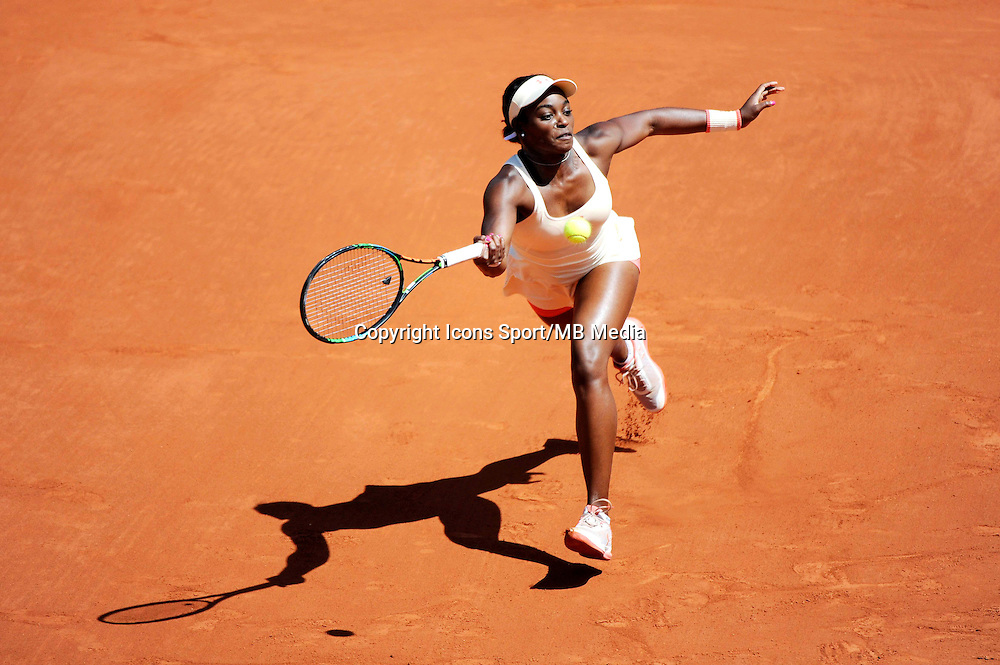 Sloane STEPHENS  - 01.06.2015 - Jour 9 - Roland Garros 2015<br /> Photo : Nolwenn Le Gouic / Icon Sport