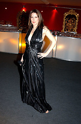 "PRINCESS TAMARA CZARTORYSKI-BOURBON at the 10th annual British Red Cross London Ball.  This years ball theme was Indian based - ""Yaksha - Yakshi: Doorkeepers to the Divine"" and was held at The Room, Upper Ground, London on 1st December 2004.  Proceeds from the ball will aid vital humanitarian work, including HIV/AIDS projects that the Red Cross supports in the UK and overseas.<br />