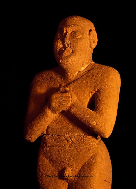 Sumerian kearly dynastic 2,500 c. B.C. Tarut Island.  National Museum of Saudi Arabia, Riyadh
