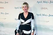 Premiere van de film April, May en June in het  DeLaMar Theater,  Amsterdam.<br /> <br /> Op de foto:  Monique des Bouvrie