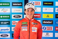 Alenka Cebasek of Cross Country Skiing team at media day of Ski Association of Slovenia before new winter season 2018/19, on October 4, 2018 in Ski resort Pohorje, Maribor, Slovenia. Photo by Grega Valancic / Sportida
