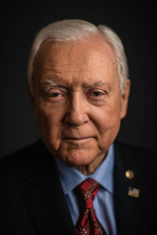 WASHINGTON, DC -- 12/21/17 -- Senator Orrin Hatch is the senior senator from Utah, Chairman of the Senate Finance Committee and President pro tempore of the United States Senate..…by André Chung #_AC27096