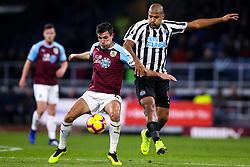 Jack Cork of Burnley takes on Jose Salomon Rondon of Newcastle United - Mandatory by-line: Robbie Stephenson/JMP - 26/11/2018 - FOOTBALL - Turf Moor - Burnley, England - Burnley v Newcastle United - Premier League