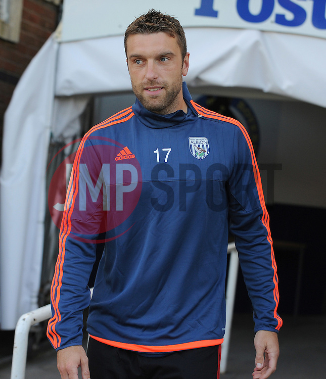 Rickie Lambert of West Brom - Mandatory by-line: Neil Brookman/JMP - 07966386802 - 31/07/2015 - SPORT - FOOTBALL - Bristol,England - Memorial Stadium - Bristol Rovers v West Brom - Pre-Season Friendly