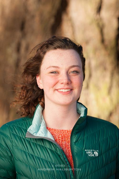 Brittney portraits, Mount Tabor Park