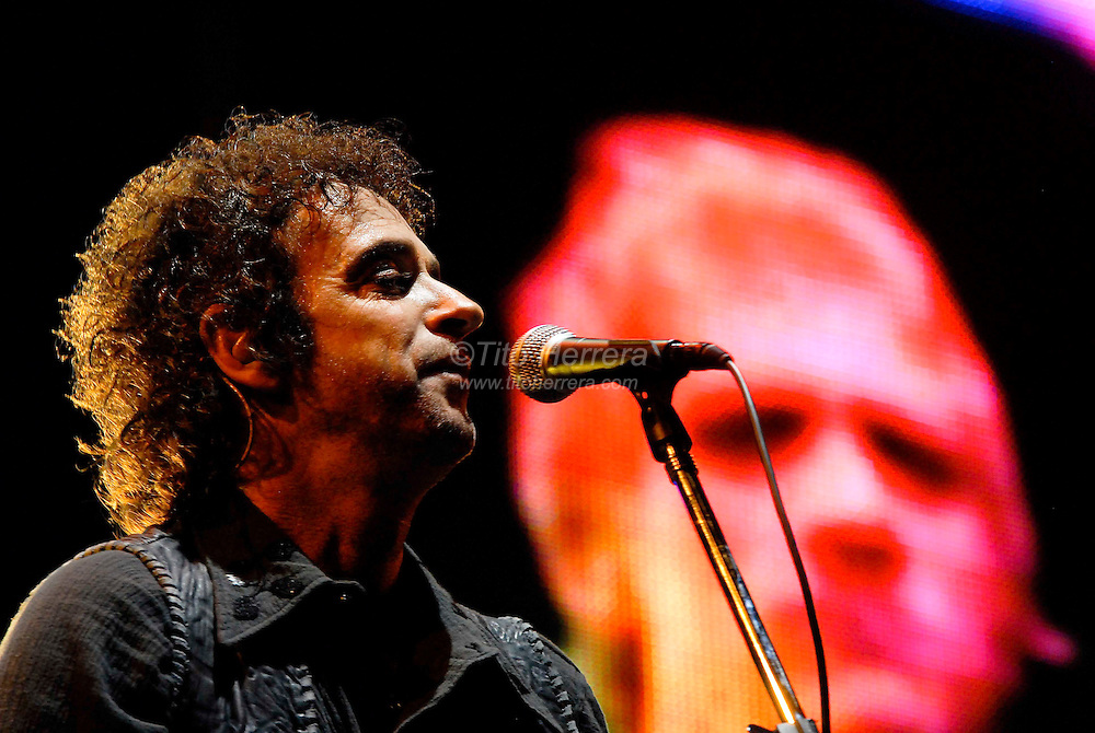 Latin Rock band Soda Stereo, from Argentina,  live in Panama City, Panama. 2008