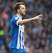 Brighton central midfielder Dale Stephens during the Sky Bet Championship match between Brighton and Hove Albion and Middlesbrough at the American Express Community Stadium, Brighton and Hove, England on 19 December 2015. Photo by Bennett Dean.