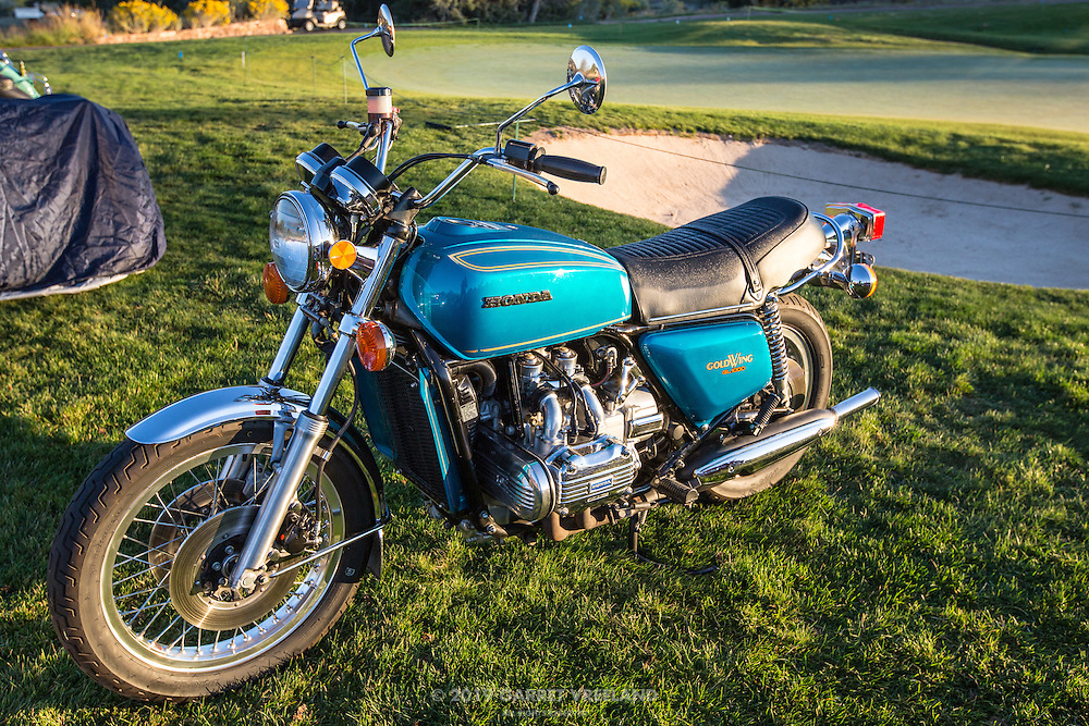 1975 Honda GL 1000 Gold Wing, in the early morning light, pre-show, at the 2012 Santa Fe Concorso.