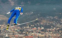 02.01.2016, Bergisel Schanze, Innsbruck, AUT, FIS Weltcup Ski Sprung, Vierschanzentournee, Training, im Bild Gregor Schlierenzauer (AUT) // Gregor Schlierenzauer of Austria during his Practice Jump for the Four Hills Tournament of FIS Ski Jumping World Cup at the Bergisel Schanze, Innsbruck, Austria on 2016/01/02. EXPA Pictures © 2016, PhotoCredit: EXPA/ JFK