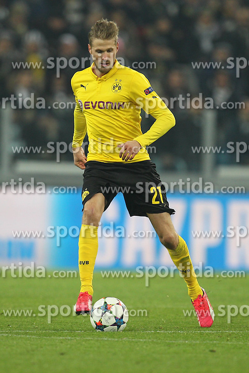 24.02.2015, Veltins Arena, Turin, ITA, UEFA CL, Juventus Turin vs Borussia Dortmund, Achtelfinale, Hinspiel, im Bild Oliver Kirch #21 (Borussia Dortmund) // during the UEFA Champions League Round of 16, 1st Leg match between between Juventus Turin and Borussia Dortmund at the Veltins Arena in Turin, Italy on 2015/02/24. EXPA Pictures &copy; 2015, PhotoCredit: EXPA/ Eibner-Pressefoto/ Kolbert<br /> <br /> *****ATTENTION - OUT of GER*****
