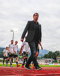16.05.2015, Stadion Wolfsberg, Wolfsberg, AUT, 1. FBL, RZ Pellets WAC vs SK Puntigamer Sturm Graz, 33. Runde, im Bild v.l. Trainer Franco Foda (SK Sturm Graz) // during the Austrian Football Bundesliga 33rd Round match between RZ Pellets WAC and Sturm Graz at the Stadium Wolfsberg in Wolfsberg Austria on 2015/05/16, EXPA Pictures © 2015, PhotoCredit: EXPA/ Wolfgang Jannach