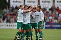 Fotball, Eliteserie, 25 juli 2004, Alfheim Stadion i Tromsø, TROMSØ IL - HAM KAM 0-3, Petter Vaagen Moen har akkurat satt inn 0-1<br /> FOTO: KAJA BAARDSEN/DIGITALSPORT