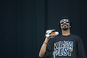 MANCHESTER, TN - JUNE 14:  Snoop Dogg performs at the 2009 Bonnaroo Music and Arts Festival on June 14, 2009 in Manchester, Tennessee. Photo by Bryan Rinnert/3Sight Photography