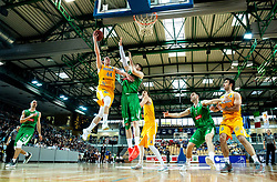 Luka Voncina of Sixt Primorska during basketball match between KK Sixt Primorska and KK Petrol Olimpija in semifinal of Spar Cup 2018/19, on February 16, 2019 in Arena Bonifika, Koper / Capodistria, Slovenia. Photo by Vid Ponikvar / Sportida