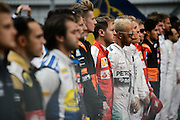 October 8-11, 2015: Russian GP 2015: F1 drivers before the Russian Grand Prix
